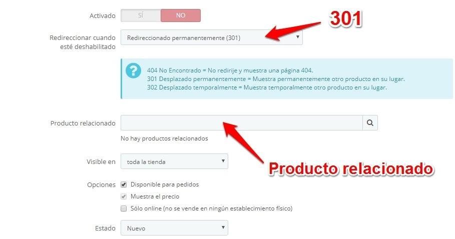 Prestashop. Cómo Redireccionar Productos sin Perder SEO y Evitar Errores 404.