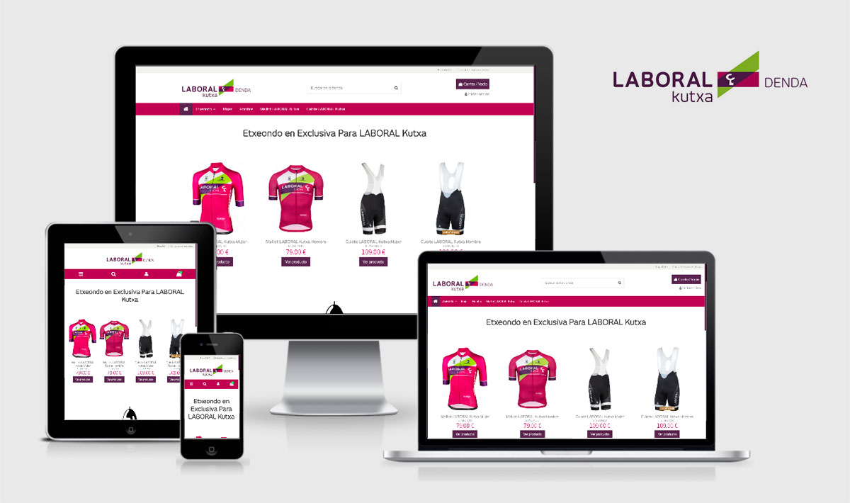 LABORAL KUTXA DENDA tienda online