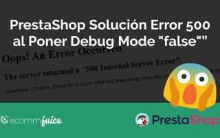 "PrestaShop Error 500 al poner Debug Mode ""false"""