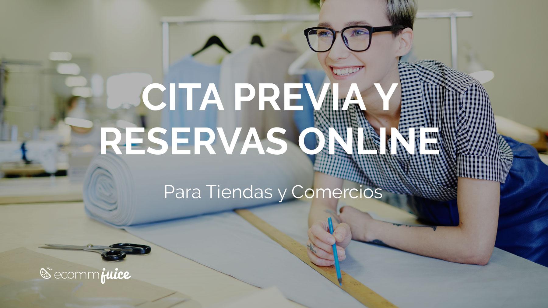 Cita Previa y Reservas Online Para Tiendas y Comercios