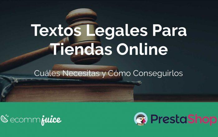 Textos Legales Para Tiendas Online e Ecommerce